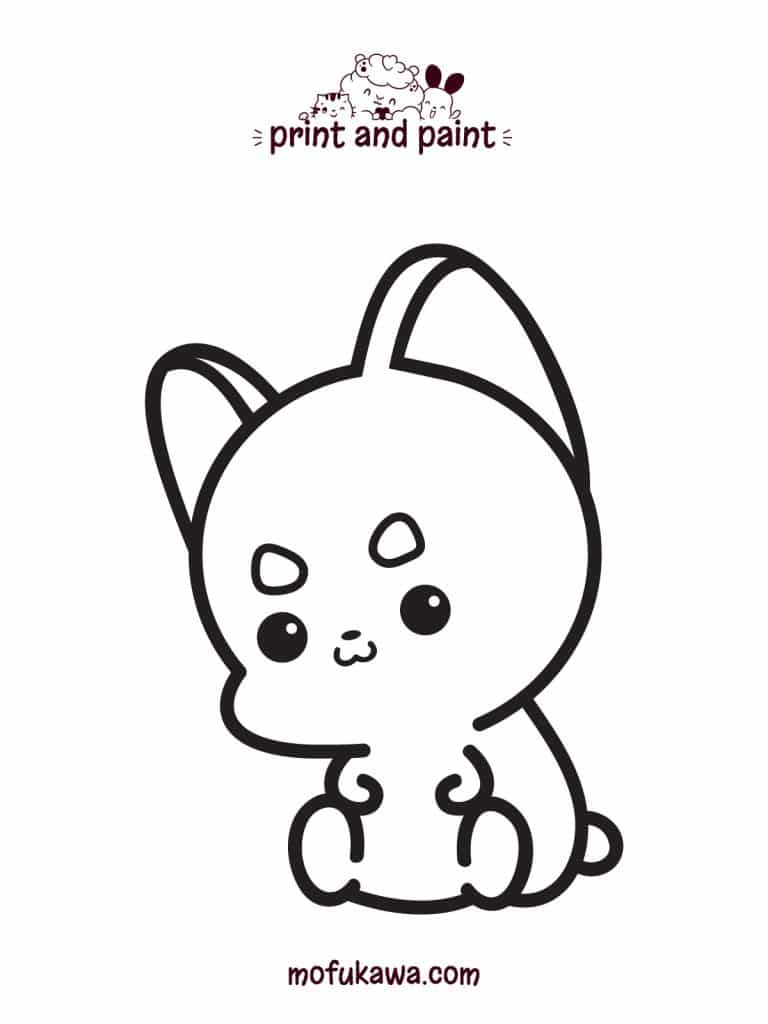 How To Draw A Cute Dog Easy Step By Step Lesson For Everyone