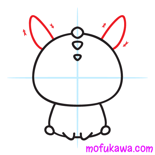 How To Draw A Cute Dragon Step 6