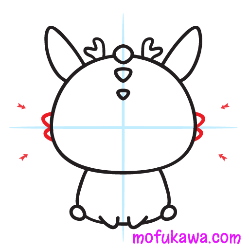 How To Draw A Cute Dragon Step 8