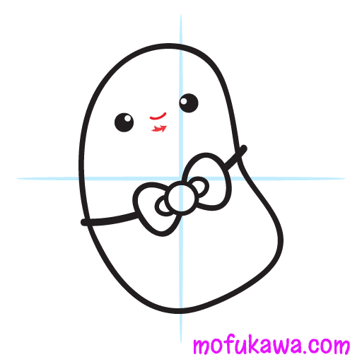 How To Draw Kawaii Potato Step 8
