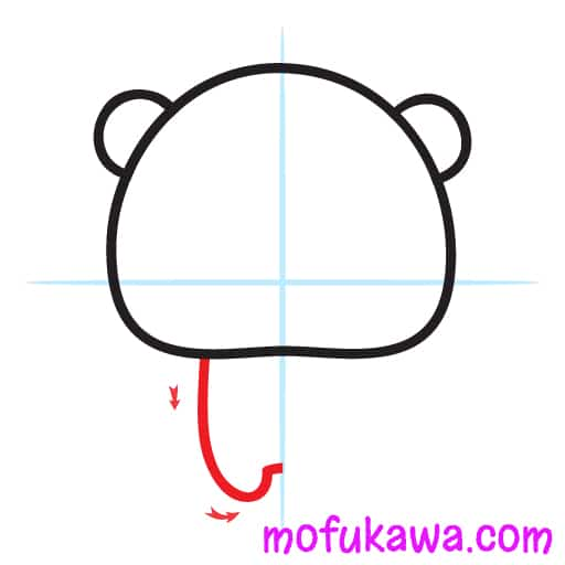 How To Draw A Cute Panda Step 3