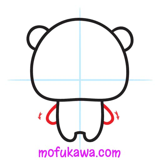 How To Draw A Cute Panda Step 5