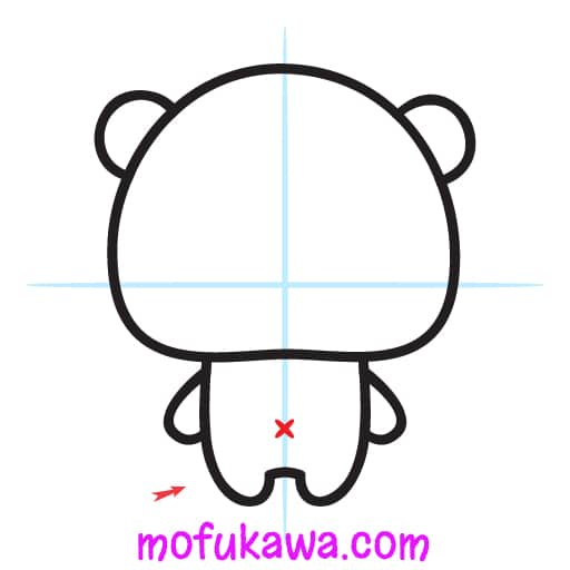 How To Draw A Cute Panda Step 6
