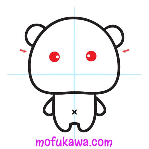 How To Draw A Cute Panda Step 7