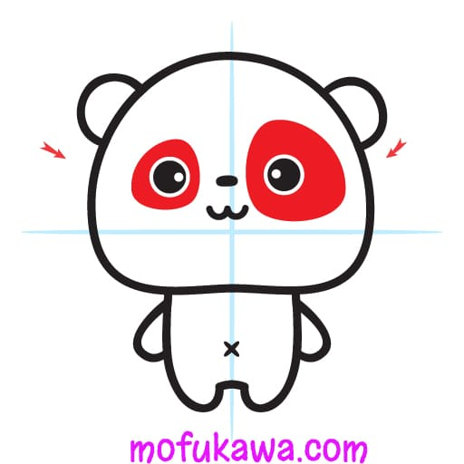 How To Draw A Cute Panda Step 9