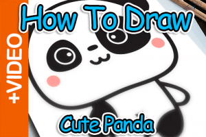 How To Draw A Cute Panda Thumbnail