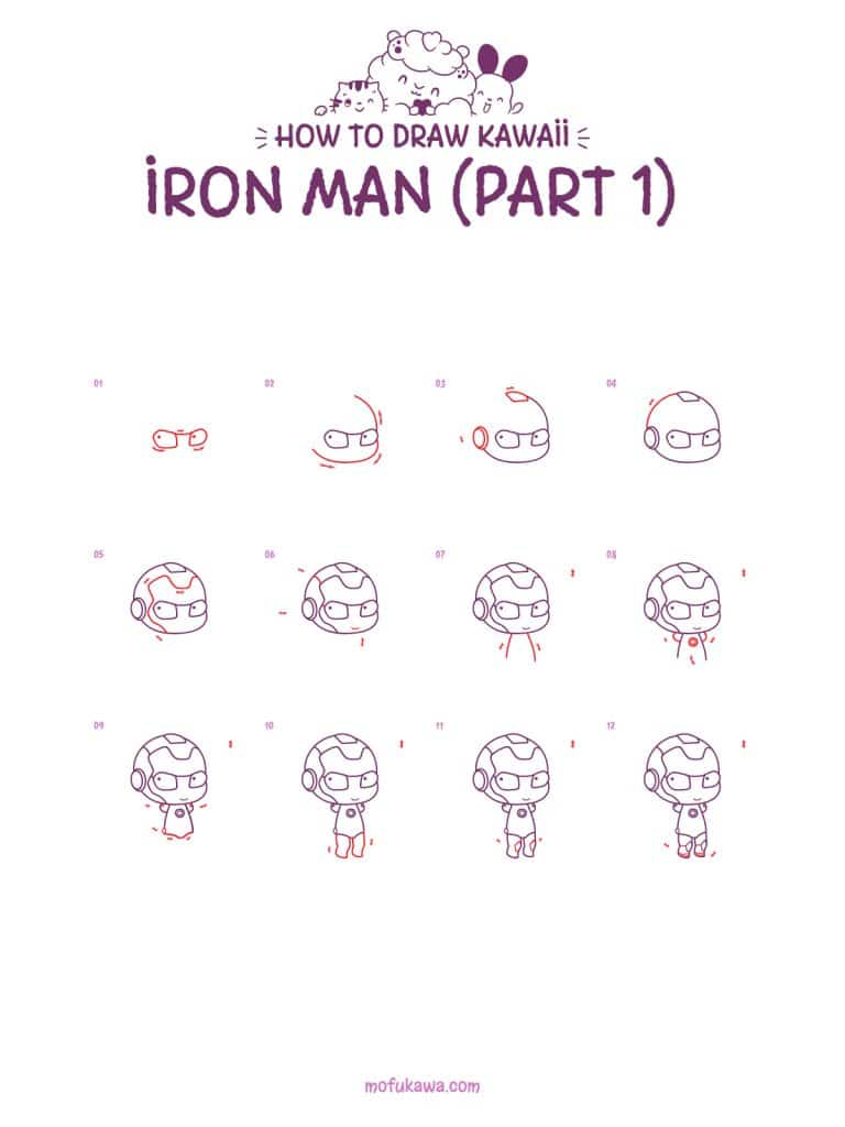 howtodrawironman part1 2