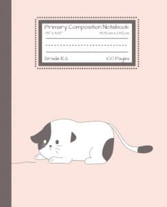 Cute Cat Notebook Cover