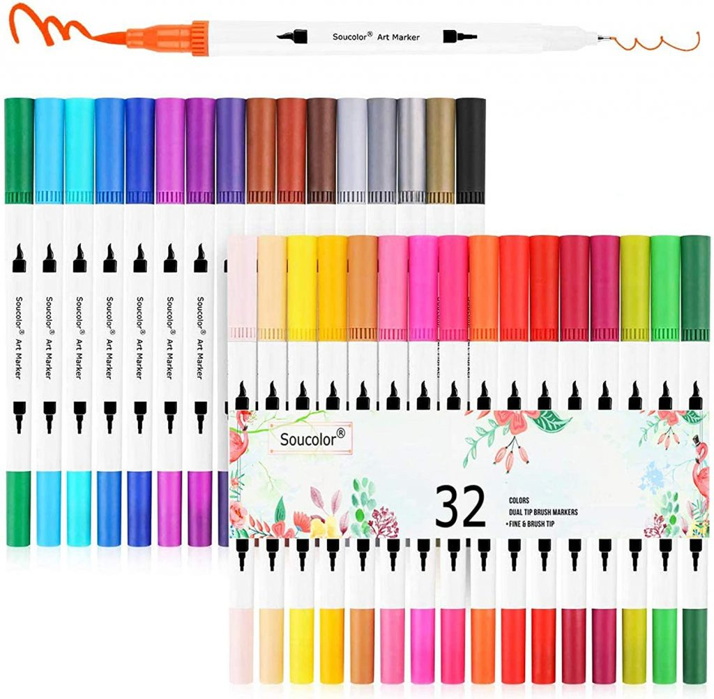 sou-color markers