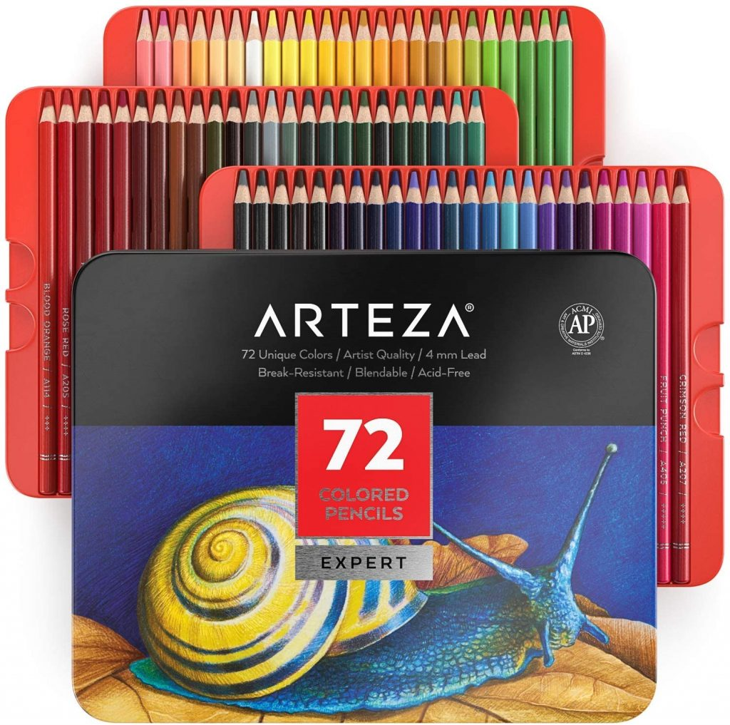 Arteza Professional Colored Pencils