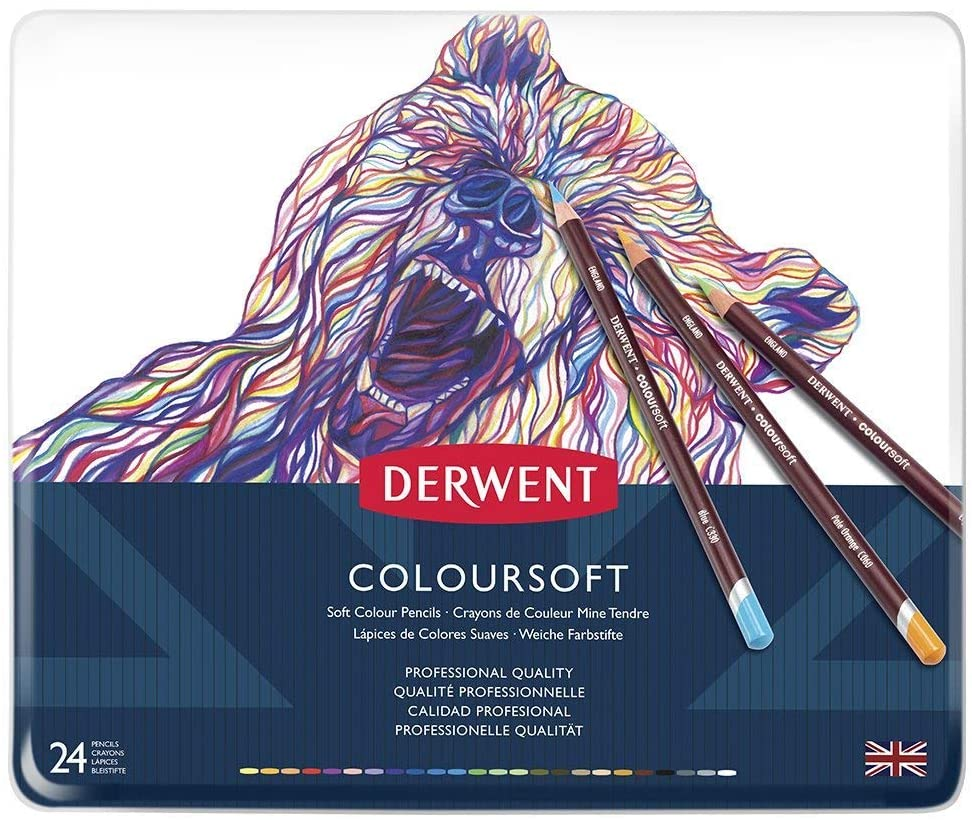 Derwent Coloursoft Colored Pencils