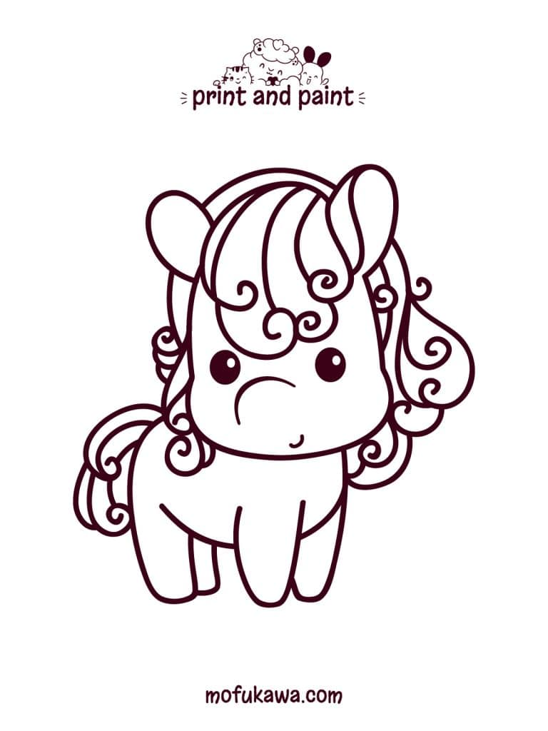 horse-coloring-page