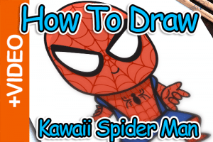 How To Draw Spiderman – Easy Step By Step Lesson