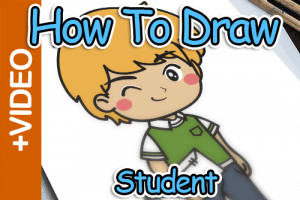 How To Draw A Student