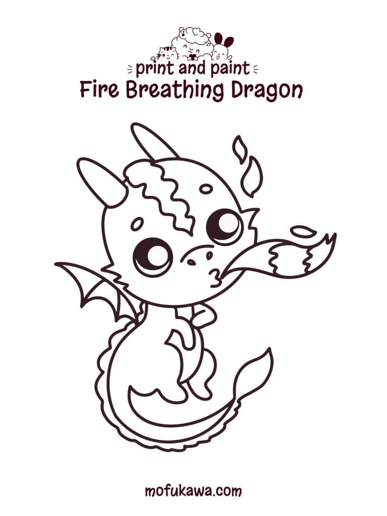 dragon-coloring-page-with-fire