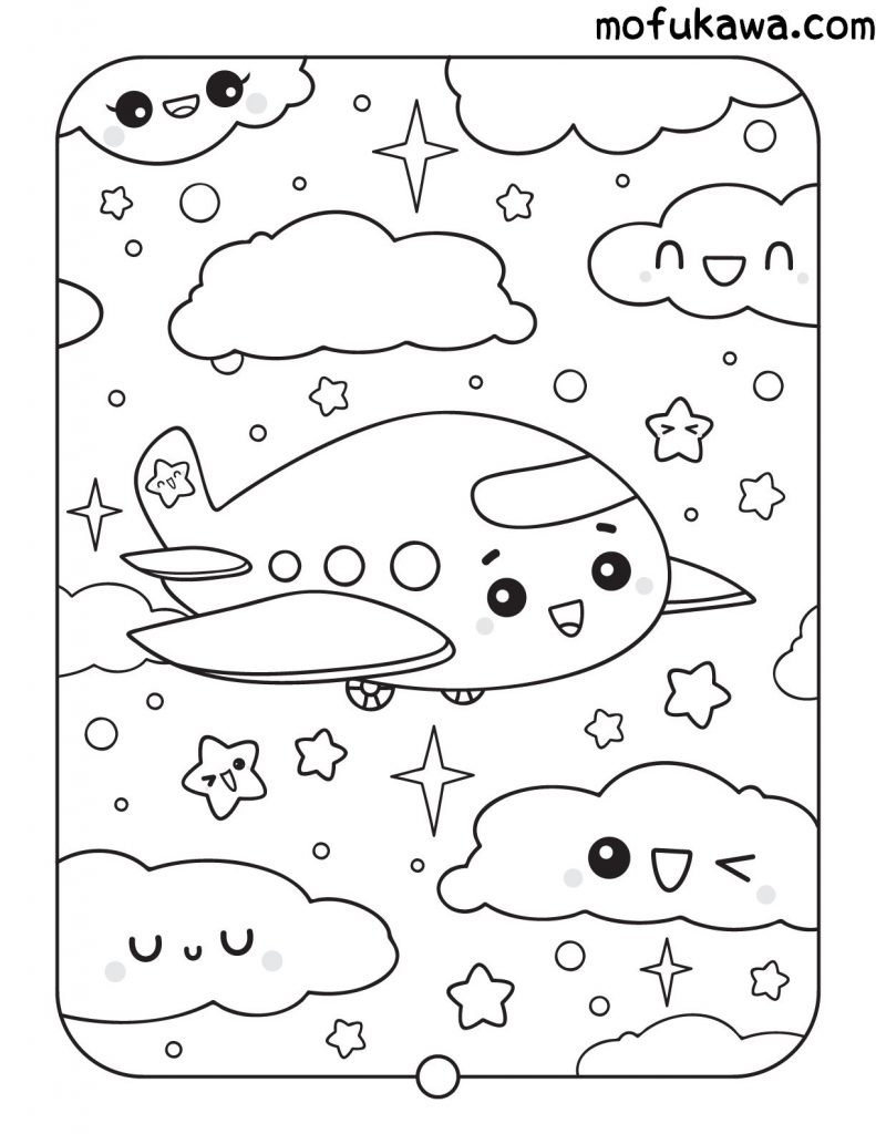kawaii-coloring-page-1