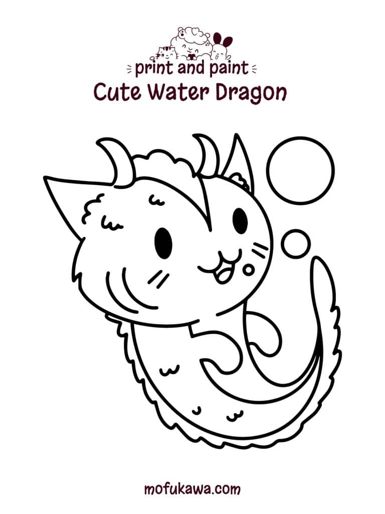 water-dragon-coloring-page