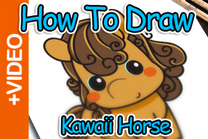 How To Draw A Horse – Easy Step By Step Guide