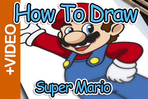 How To Draw Super Mario