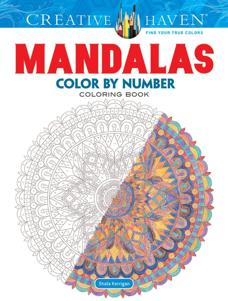 Creative Haven Color by Number Mandalas