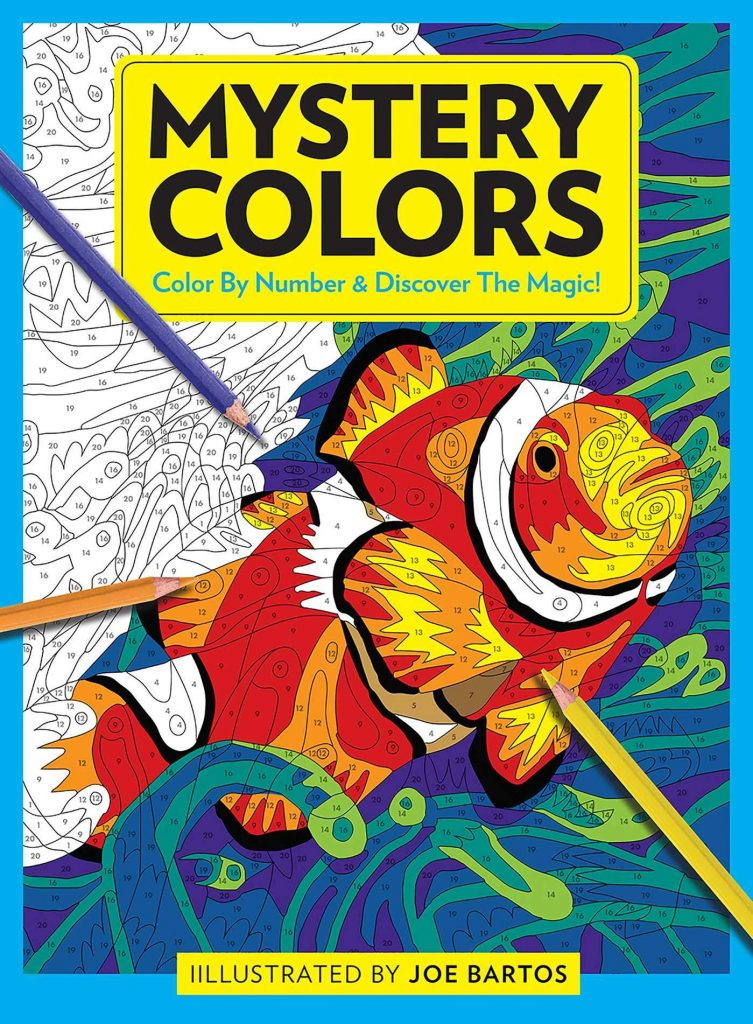 Joe Bartos Mystery Colors Color By Number & Discover the Magic